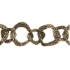Chain Irregular 25mm Antique Brass